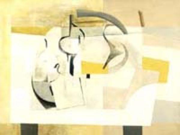 Работа Бена Николсона 1949 года