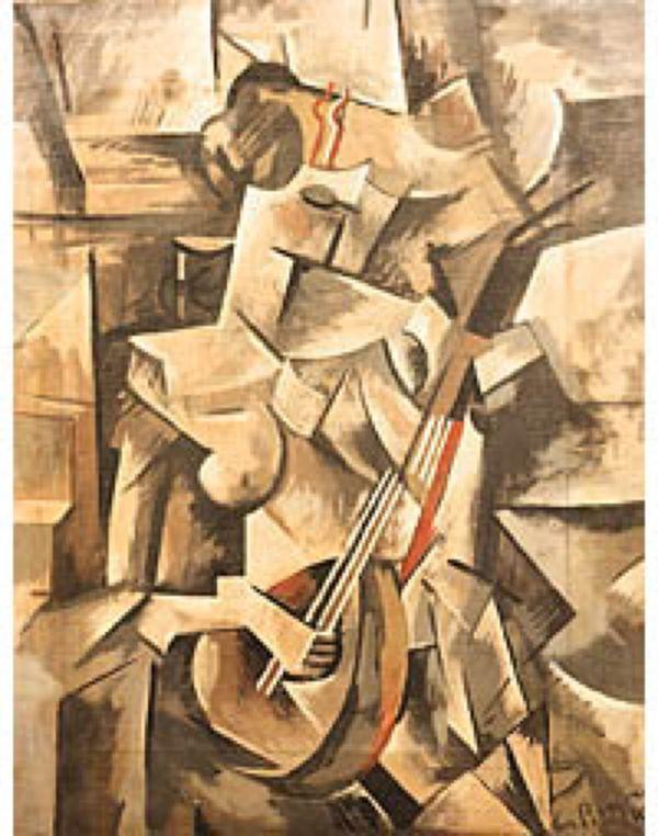 Поддельный рисунок Пикассо с аукциона eBay