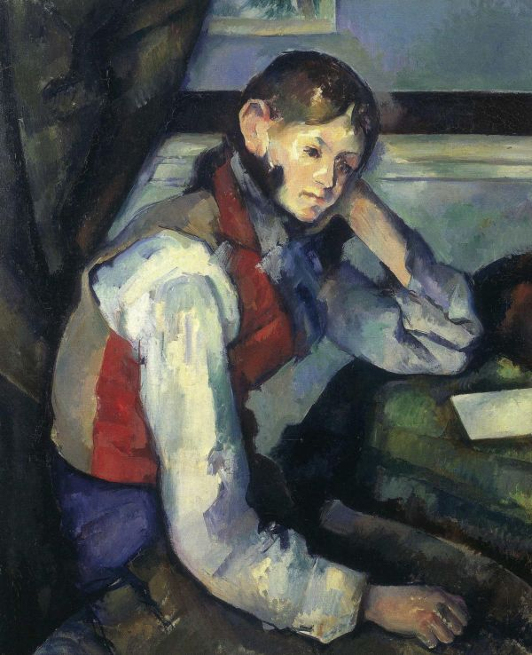 Boy In The Red Vest Painting Value