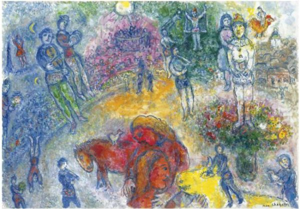 marc-chagall-yellow-crucifixion Images - Frompo - 1 Chagall Crucifixion In Yellow