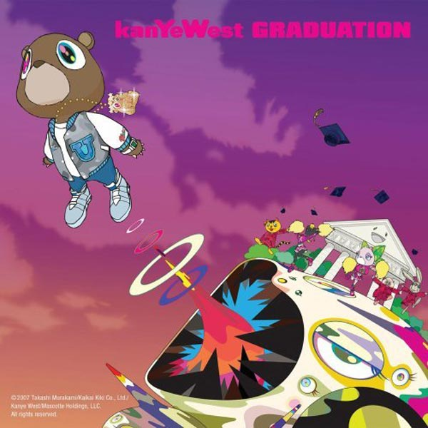 kanye west graduation album cover art. Cover album Graduation Kanye