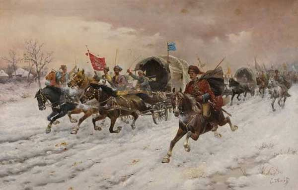 КОНСТАНТИН БАУМГАРТНЕР-СТОИЛОВ Тройка несется по снегу