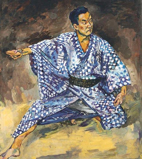 ПЕТР КОНЧАЛОВСКИЙ Портрет японского актера Тодзуро Каварасаки