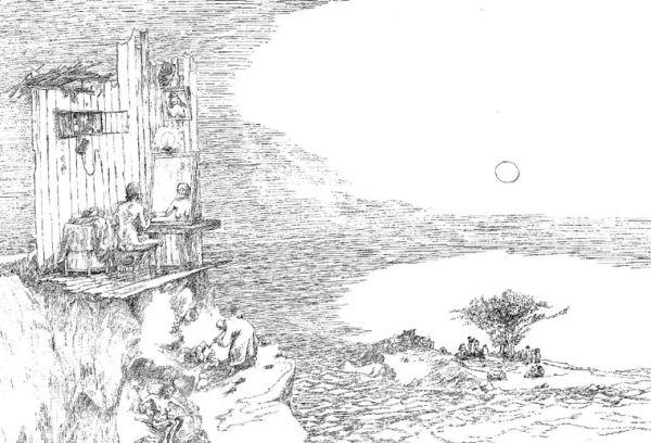 Лагерные рисунки бориса свешникова