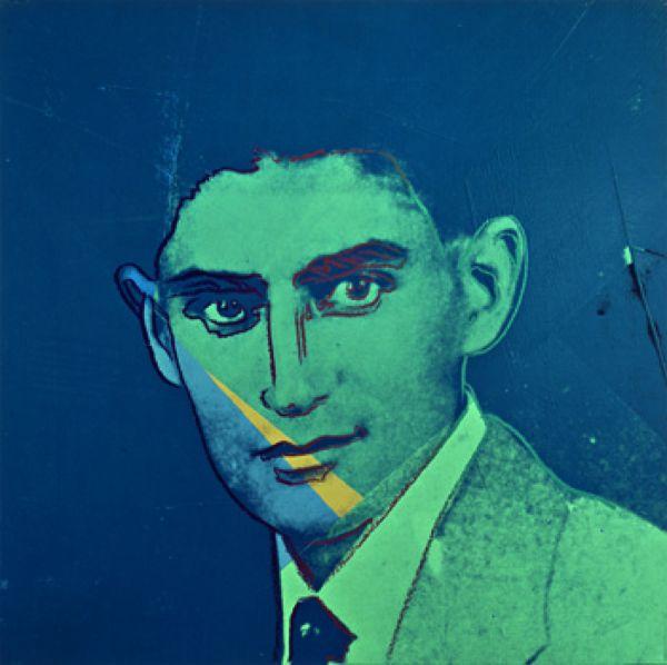 Andy Warhol Franz Kafka