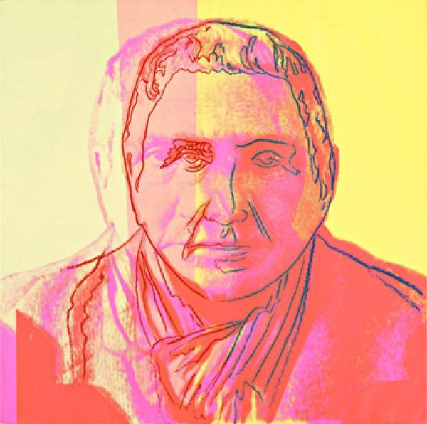 Andy Warhol Gertrude Stein