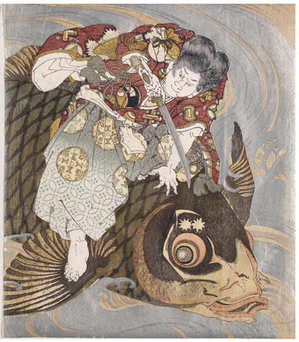 гравюры рыбаков