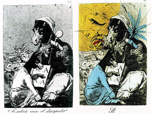Francisco Goya and Salvador