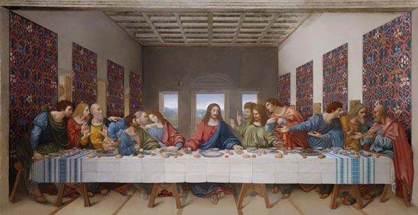 The Last Supper Leonardo da Vinci  Wikipedia