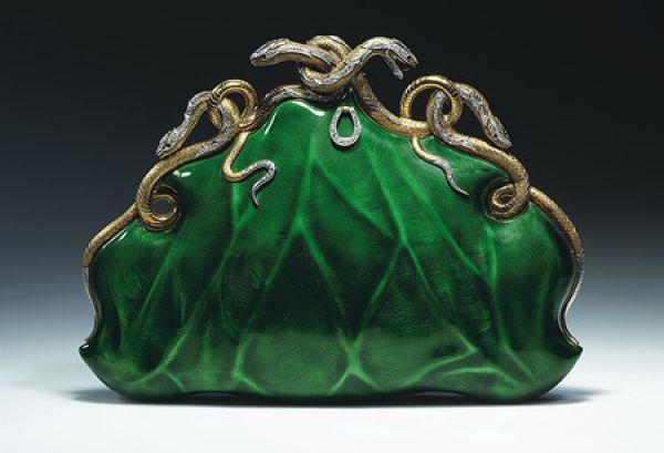 Вечерняя сумочка.  Ок.  1968. Мастер Алоисия Ручеллаи Флоренция.
