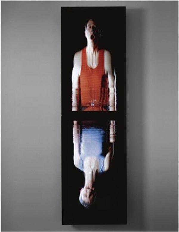 БИЛЛ ВИОЛА Пленение. Фрагмент видеоинсталляции. 2001