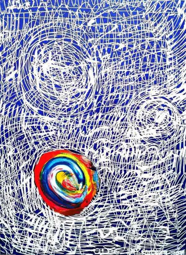 Большое цветное наслаждение Олега Яковлева в Lazarev Gallery .