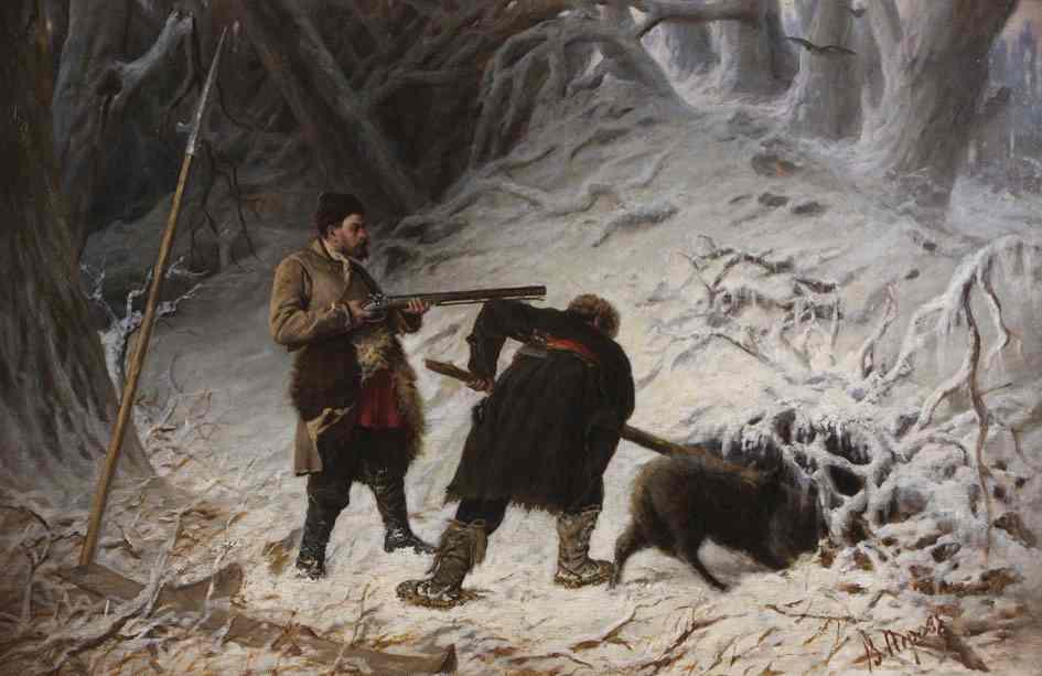 Картина оленя