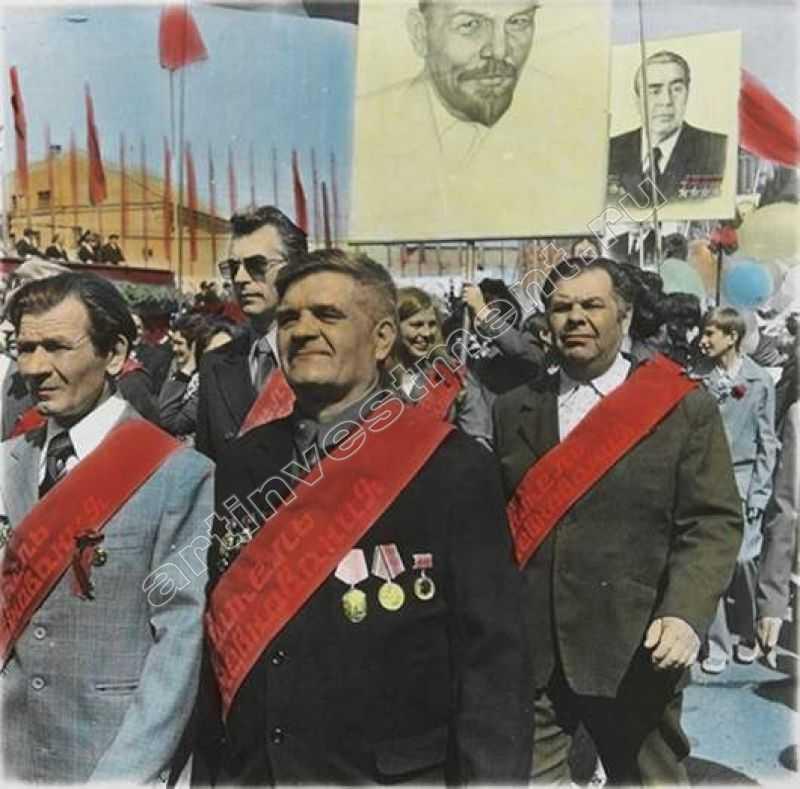 БОРИС МИХАЙЛОВ Без названия. Из серии «Соц-арт». 1981