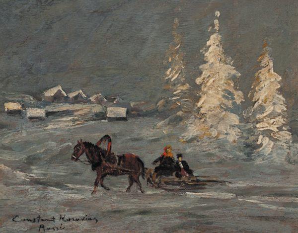 Зимние пейзажи шишкина