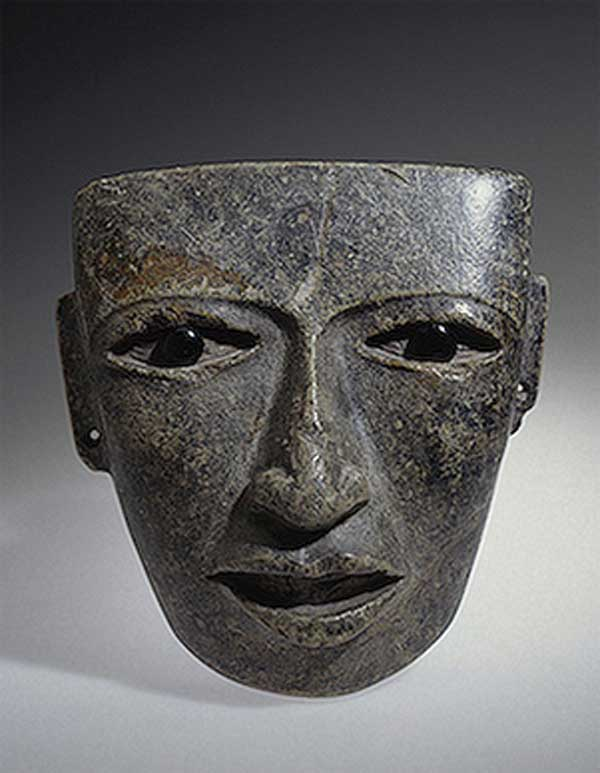 Mask. middle of I millennium