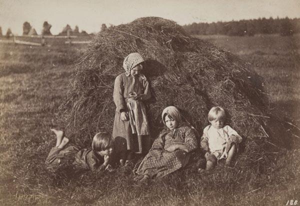 Крестьянские дети рано начинали трудовой путь