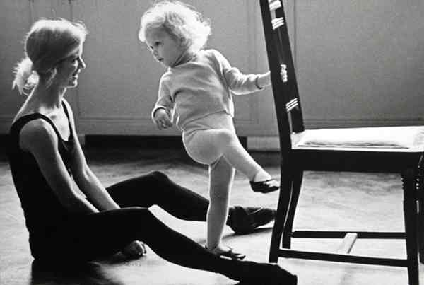 ЮРИЙ АБРАМОЧКИН Рождение балерины. 1966