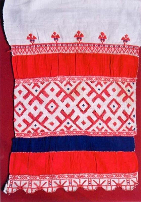 Вышивка русского полотенца 71