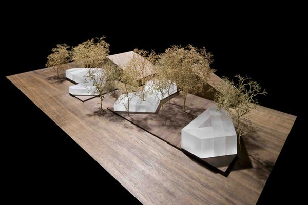 Модель новых павильонов арт-ярмарки Frieze. Архитектурное бюро Carmody Groarke