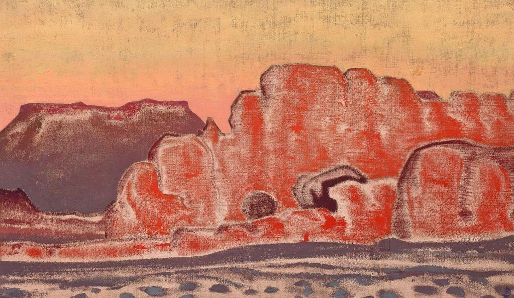 НИКОЛАЙ РЕРИХ Большой каньон. Около 1921