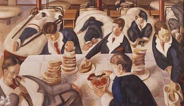 СТЕНЛИ СПЕНСЕР Чаепитие в палате госпиталя