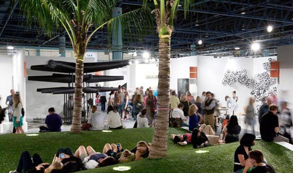 На ярмарке Art Basel Miami Beach