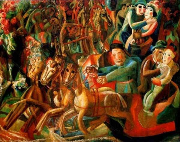 ПАВЕЛ ФИЛОНОВ Масленица и вывод из зимы в лето. 1913–1914