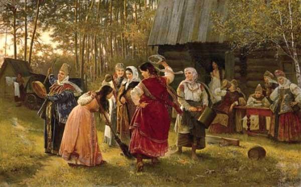 АЛЕКСЕЙ КОРЗУХИН Девичник. 1889