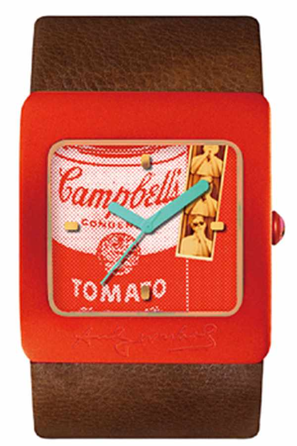 Opening with the theme of Andy Warhol Campbell
