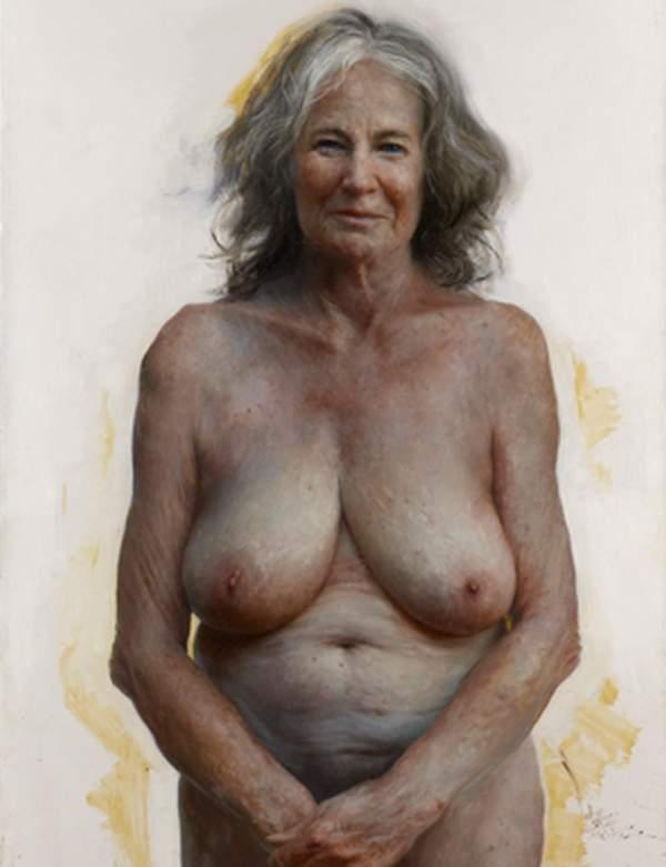 Фото старые голых женщин