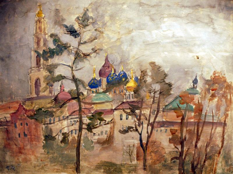 Robert Falk Zagorsk. 1955