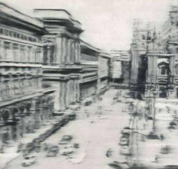 ГЕРХАРД РИХТЕР Соборная площадь, Милан. 1968