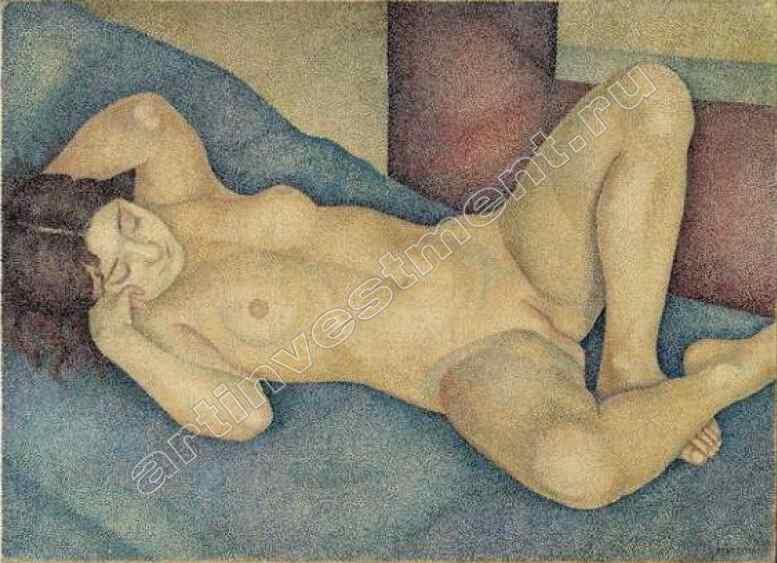 МАРЕВНА (1892–1984) Лежащая обнаженная. 1930