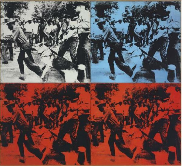 ЭНДИ УОРХОЛ Race Riot. 1964