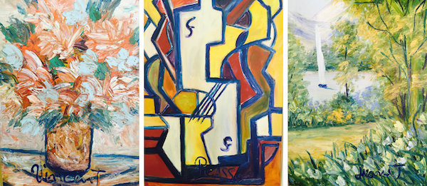A psychic claims that paints pictures at the behest of the for Da matisse a monet