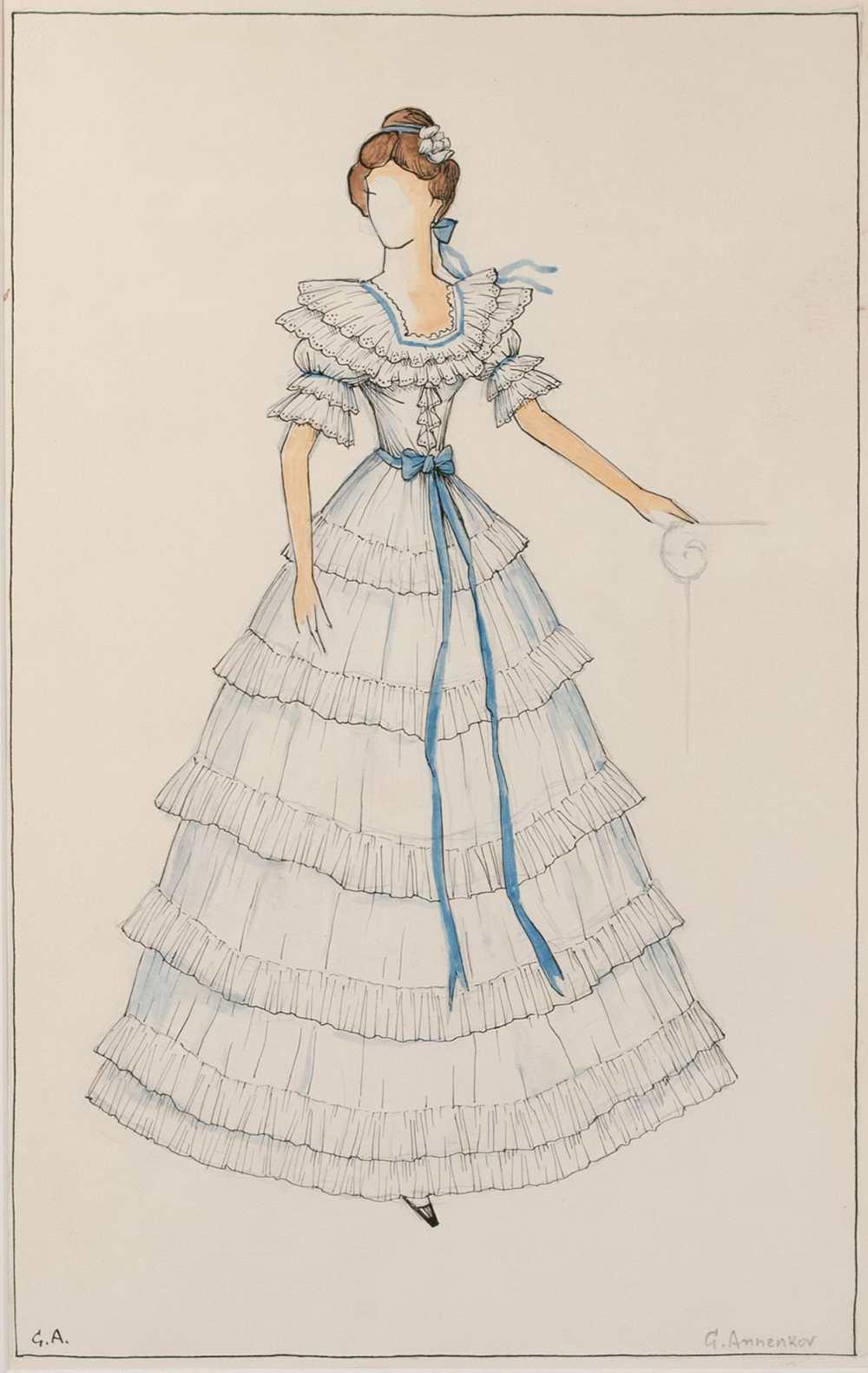 Платье татьяны из евгения онегина