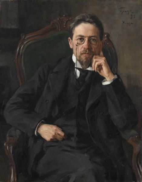 Осип БРАЗ Портрет Антона Павловича Чехова. 1898