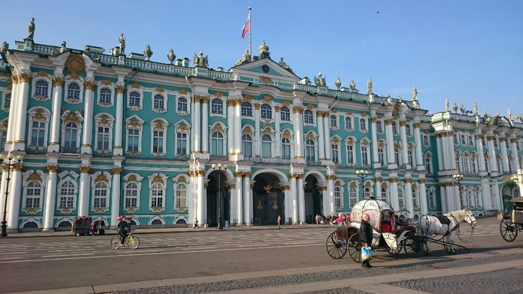 The hermitage received 3rd place in the ranking of the for Best museums in the world