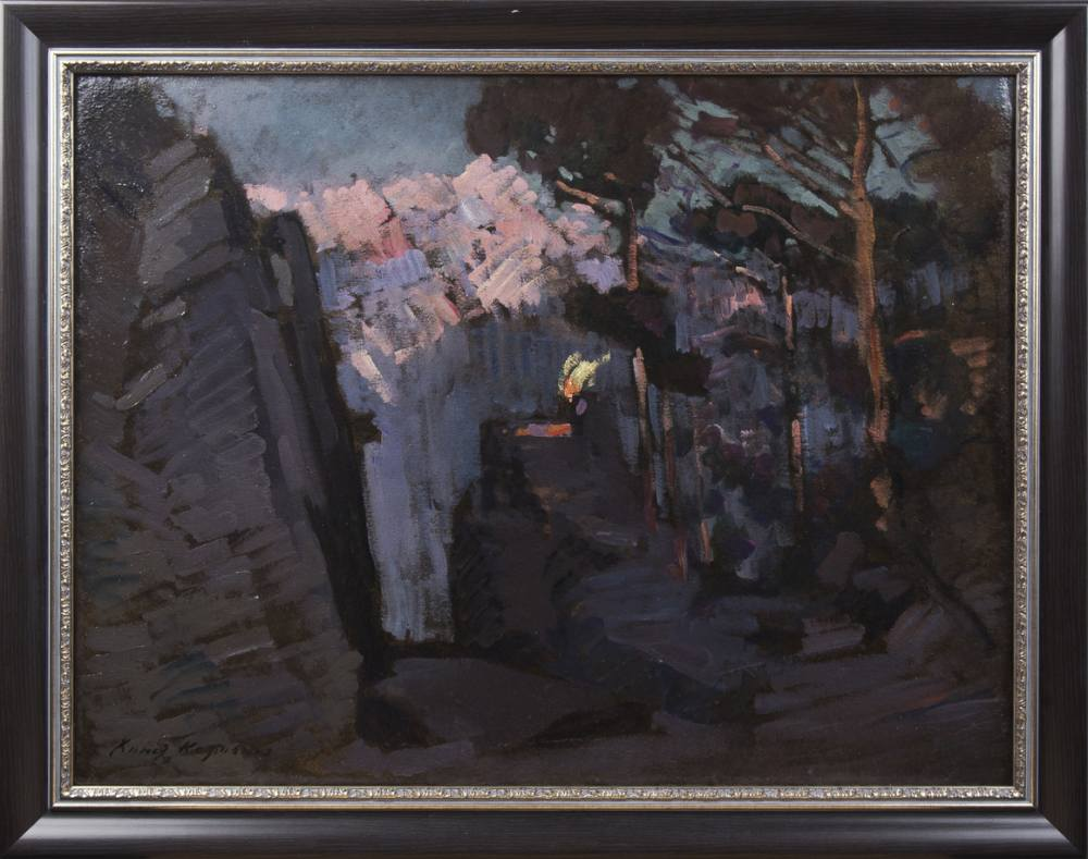 Russian and western european art in the house russian enamel a sketch of the scenery 1900 10 canvas on cardboard oil 662 x 882 russian enamel 21102017 lot 30 estimate 2 200 000 2 300 000 rubles jeuxipadfo Image collections