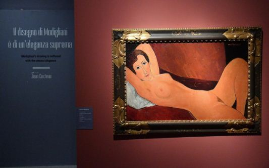 20 картин ситальянской выставки Амедео Модильяни оказались подделками