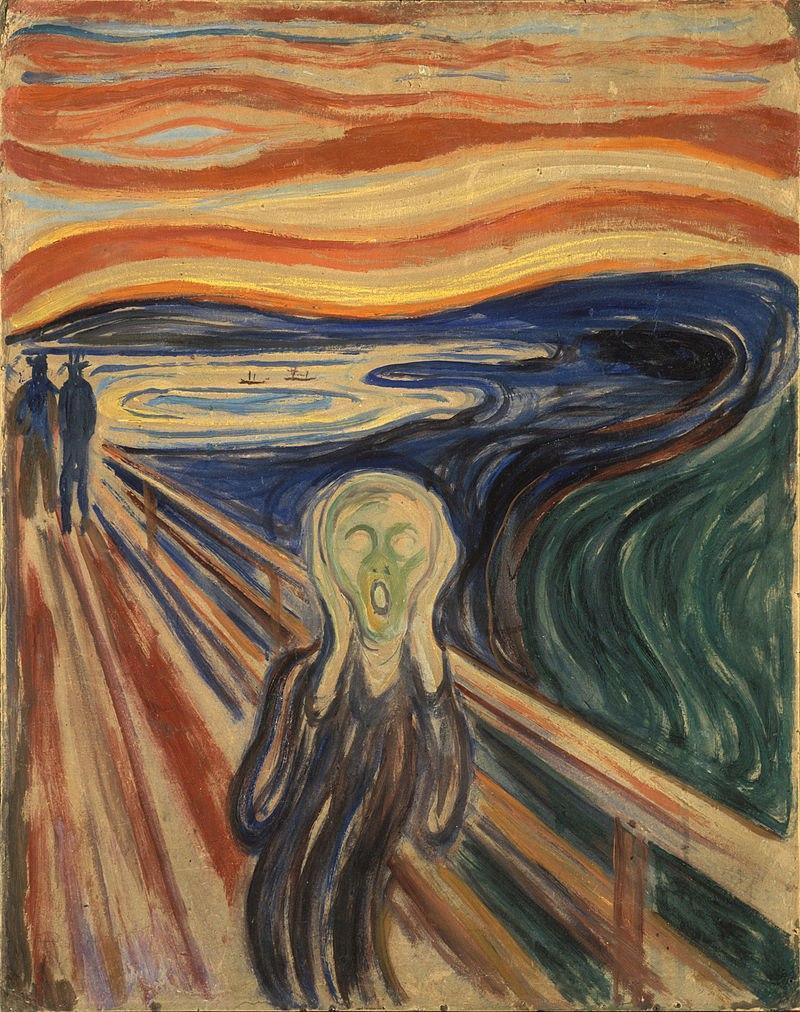 Стала известна причина потускнения картины Мунка «Крик»