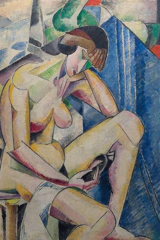 Полотно русско-французской художницы Марии Васильевой продали в Париже за €680 тыс
