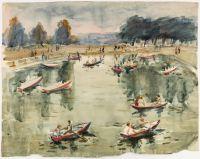 Artist: Deineko, Olga Konstantinovna : Boating