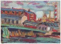 Artist: Frontinsky, Oleg Borisovich : Городской пейзаж