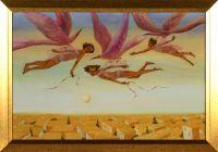 Artist: Zaitseva, Irina Evgenievna : Птицы учат людей летать