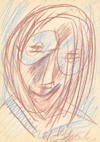 Artist: Yakovlev, Vladimir Igorevich : Портрет человека в очках