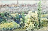 Artist: Burykin, Alexandr Konstantinovich : Индустриальный пейзаж