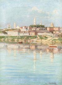 Художник: Малышев, Василий Григорьевич : View of a city