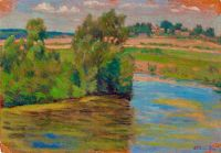 Artist: Schukin, Petr Evgrafovich : У реки
